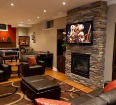 Brown Carpet Living Room Ideas by Best Brown Carpet For Basement Family Room With Brick Fireplace