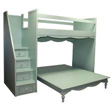 simply elegant fantasy full over queen bunk bed by country cottage