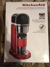 Item 7 KitchenAid KCM0402ER Sleek Compact Coffee Maker Barista Style Empire Red