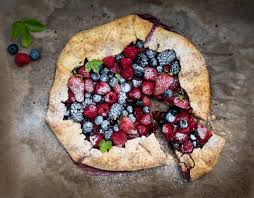 Rustic Berry Crostata With Spelt