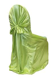 Universal Satin Self Tie Chair Cover Approx. 55