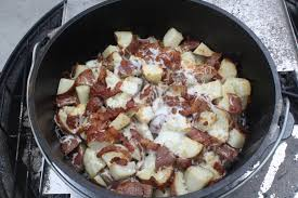 Cheesy Bacon Ranch Dutch Oven Red Potatoes | Backyard Life ... Texas Garden The Fervent Gardener How Many Potatoes Per Plant Having A Good Harvest Dec 2017 To Grow Your Own Backyard 17 Best Images About Big Green Egg On Pinterest Pork Grilled Red Party Tuned Up Want Organic In Just 35 Vegan Mashed Potatoes Triple Mash Mashed Pumpkin Cinnamon Bacon Sweet Gardening Seminole Pumpkins And Sweet From My Backyard Potato Salad Recipe Taste Of Home