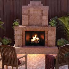 Gas Light Mantles Home Depot by Pavestone Rumblestone 84 In X 38 5 In X 94 5 In Outdoor Stone