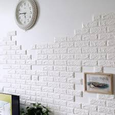 Diy Self Adhesive 3d Wall Stickers Bedroom Decor Foam Brick Room Wallpaper Living Sticker Home Decoration Baby