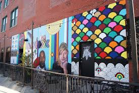 Big Ang Mural Chicago by Orange Walls Murals Wicker Park Bucktown Chamber Of Commerce