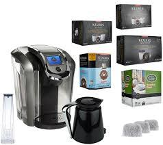 Keurig 20 K550 Coffee Maker W 36 K Cup Pods 12 Carafe Filters
