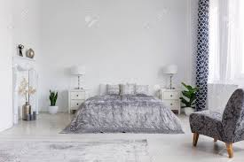 99 New York Style Bedroom Trendy Armchair In Bedroom Designed In New York Style Real Photo