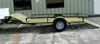 100 Truck Loading Ramps Quad Bike Trailer With Loading Ramp For Loading Quad Bike On Truck