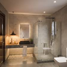 Contemporary Bathroom Portland OR Mosaik Design