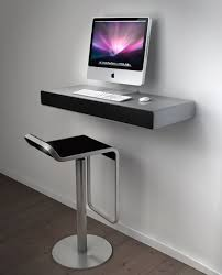 pc bureau apple wall mount for apple imac 27 inch on white wall simple