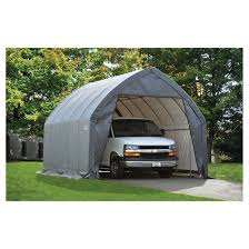 garage in a box 13 x 20 x 12 peak style for suv truck