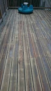 deck has substantial cupping sanded it down some how will this