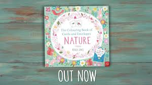 The Colouring Book Of Cards And Envelopes Nature