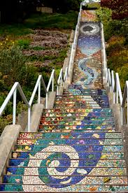 16th Avenue Tiled Steps In San Francisco by Beautiful Photos Of 16th Avenue Tiled Steps Project In San