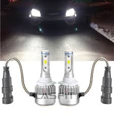 lasfit 6000k 72w 9005 hb3 led headlight kit bulb halogen