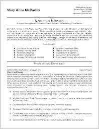 Marketing Manager Resume Sample 2017 Brand Product Examples Printable Resumes Samples