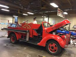 100 Ford Fire Truck Students Work To Get 1940s Bdale Firetruck Ready For Gala Parade