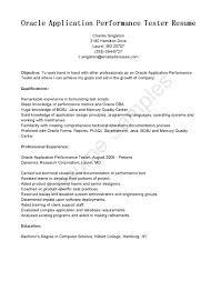 Manual Tester Sample Resume Luxury Testing Resumes New ...