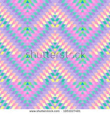 Seamless Pattern Turkish Carpet Pink Lilac Purple Beige Patchwork Mosaic Oriental Kilim Rug With