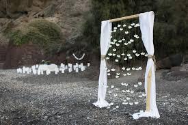 Bohemian Beach Wedding In Santorini
