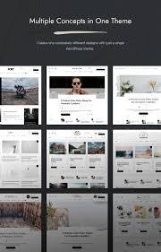 100 Contemporary Design Blog Overflow Magazine WordPress Theme By