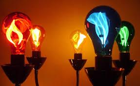 balafire flicker electric light bulbs color