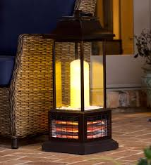 Pyramid Patio Heater Homebase by Outdoor Infrared Lantern Heater Electric Fireplaces Into The