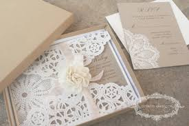 Paper Lace Doilies For Invitations 18 Gorgeous Rustic Wedding