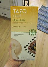 Tazo Pumpkin Spice Chai Latte Nutrition by Chicago Jogger August 2016