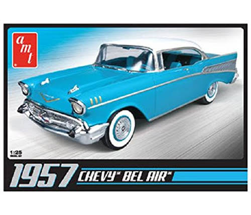 AMT 1957 Chevy Bel Air Plastic Model Kit - 1:25 Scale