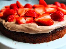 erdbeer schoko torte die vom edelkiosk