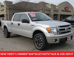 2014 Used Ford F 150 Xlt Crew Cab 4×4 20
