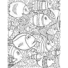 Coloriage De Poisson Offert Gratuitement Free Printables