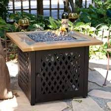 uniflame slate tile lp gas pit gas pits gas fires and