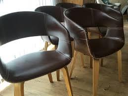8 esszimmerstühle stühle wohnzimmer leder wartezimmer konferenz