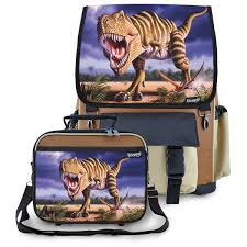 Striped T-Rex Dinosaur School Backpack & Lunchbox Set For Boys ... Mackenzie Navy Shark Camo Bpacks Pottery Barn Kids Snap To Your Day With The Wildkin Crerjack Bpack Featured 25 Unique Dinosaur Kids Show Ideas On Pinterest Food For Baby Preschool Baby Gifts Clothing Shoes Accsories Accs Find For Your Vacations Boys Blue Dino Rolling Gray Jurassic Dinos Dinosaur Small And Bags 57882 Nwt Large New Rovio Full Size Space Angry Unipak Designs Soft Leash Bag Animal Window 1 Tiger Face Black Orange