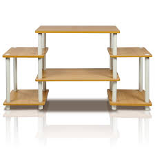 Furinno Computer Desk 11193 by Amazon Com Furinno 11257be Wh Turn N Tube No Tools Entertainment