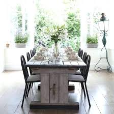 Rustic Elegant Dining Room Large Size Of Tables Rectangle Solid Wood Table