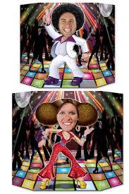 décoration disco pour photo deguisement magic