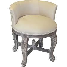 Vanity Chairs For Bathroom Wheels by Top Elegant Vanity Chair With Wheels Regarding Home Decor Handle