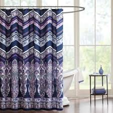Mint Curtains Bed Bath And Beyond by Buy Purple Shower Curtains From Bed Bath U0026 Beyond