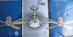 Harbour Breeze Ceiling Fan Remote Instructions by Harbor Breeze Dual Ceiling Fan 8634