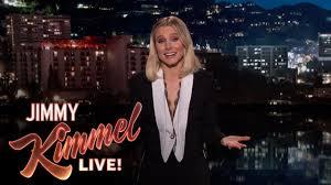 Halloween Wars Season 5 Host by Kristen Bell U0027s Guest Host Monologue On Jimmy Kimmel Live Youtube