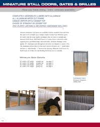 Armour Companies Aluminum Horse Stalls - Miniature Horse Stall ... Need Metal 30 X 40 Pole Barn 385875 60 16 Rv Or Motorhome Cover Tall 10 With Steel Truss Picture Is A Support Spacing For Pole Barn Structure Armour Barns Images Reverse Search Kits Steel Trusses And Carports Youtube Inside 30x80 Home Garden Pinterest Lofts Metals Roofing Garages Garage Bnsshedsgarages 240x12 Kit Part 3 How We Install The Highside Oakland Structures