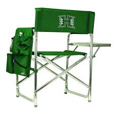 Picnic Time University Of Hawaii Hunter Green Sports Chair With ... Amazoncom San Francisco 49ers Logo T2 Quad Folding Chair And Monogrammed Personalized Chairs Custom Coachs Chair Printed Directors New Orleans Saints Carry Ncaa Logo College Deluxe Licensed Bag Beautiful With Carrying For 2018 Hot Promotional Beach Buy Mesh X10035 Discountmugs Cute Your School Design Camp Online At Allstar Pnic Time University Of Hawaii Hunter Green Sports Oak Wood Convertible Lounger Red