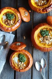 Pumpkin Soup Tureen Recipe by 9 Fall Foods You Can Make Inside A Pumpkin Mollie U0027s Kitchen