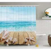 beach themed bath decor