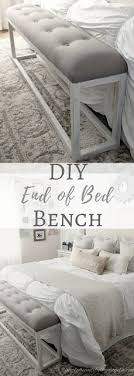 Simply Beautiful By Angela DIY Simple End Of Bed Bench Dyi Bedroom IdeasNarrow