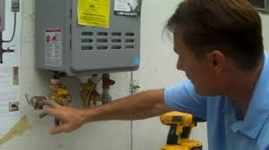 Simple Water Heater Pipe Connections Placement by Tankless Water Heater Installation Part 1 Placement Valves And