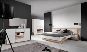 schlafzimmer komplett set a andenne 5 teilig weiß walnuss